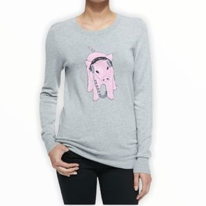 FrenchConnection This Little Piggy Melange Sweater